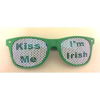 Kiss Me I'm Irish Glasses
