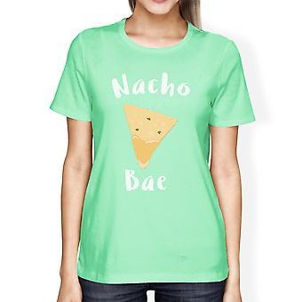 Nocho Bae kvinders Mint T-shirt søde Valentinsdag gaveideer til hende