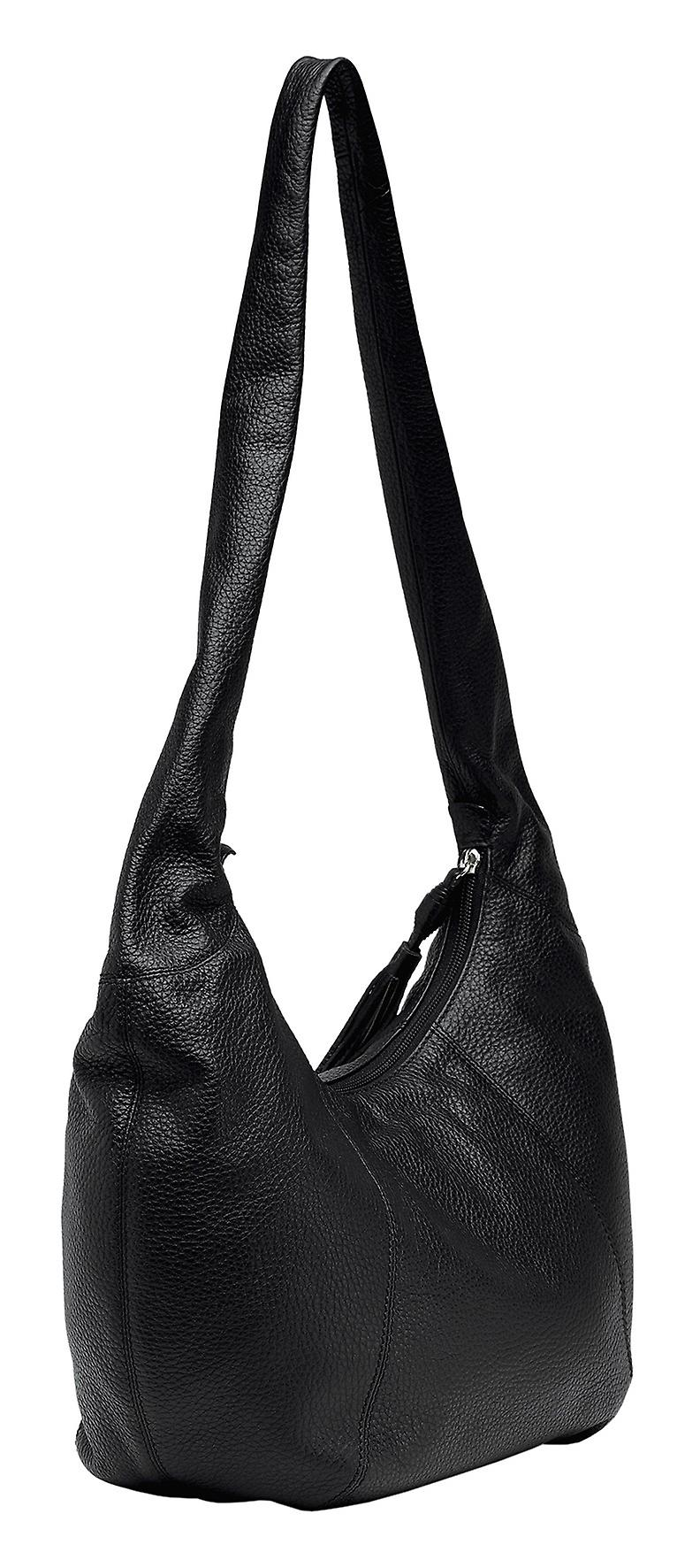 Burgmeister ladies shoulder bag T220-212 leather black