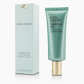 Estee Lauder nattkläder plus 3-minuters detox mask-75ml/2.5 oz