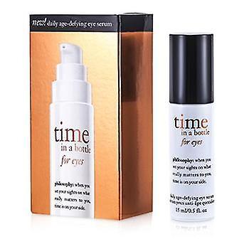 Tijd van de filosofie In een fles voor ogen (dagelijkse leeftijd-tartende Eye Serum) - 15ml / 0,5 oz
