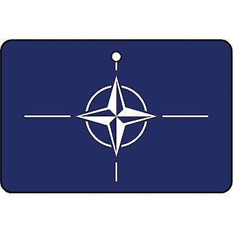 NATO North Atlantic Treaty Organization Car Air Freshener