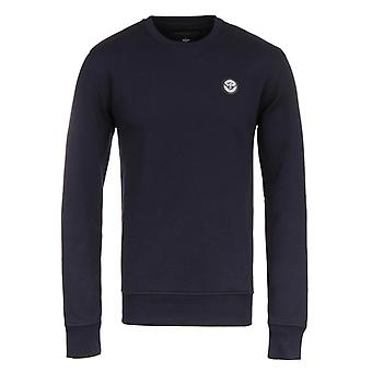 Creative Recreation Essentials Navy Jersey Crew Neck Sweatshirt