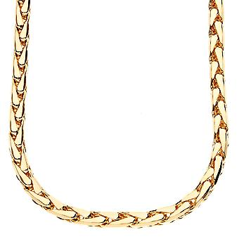 Iced out bling DC FRANCO chain - 5mm gold