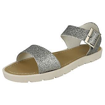 Damer Glitter tyk sommer sandaler