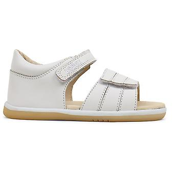 Bobux I-walk Girls Spring Sandals White