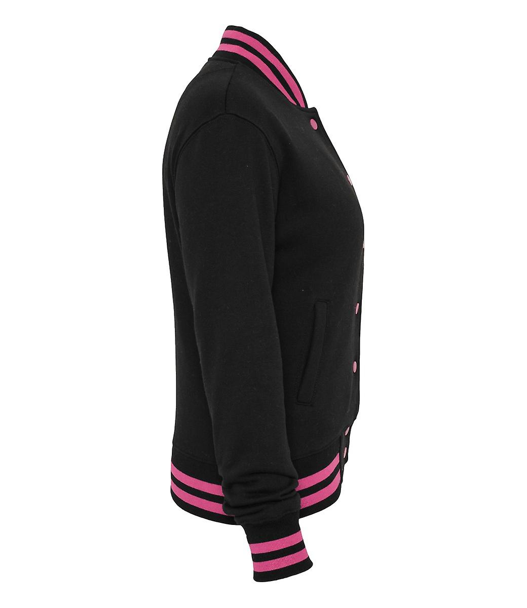 Urban classics ladies metallic College Sweatjacket