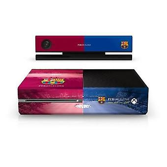 Official Barcelona FC - Xbox One Console Skin