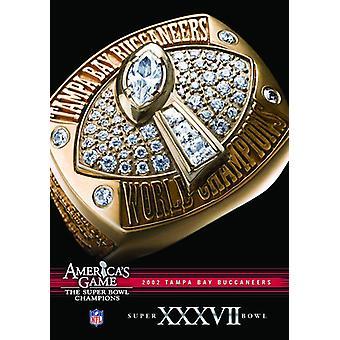 NFL Amerika spil: Buccaneers (Super Bowl XXXVII) [DVD] USA importerer