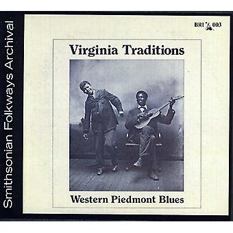 Virginia Traditions - Western Piedmont Blues [CD] USA import