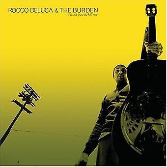 Rocco Deluca & byrde - jeg stole på dig at dræbe mig [CD] USA importerer