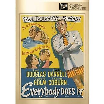 Everybody Does It [DVD] USA import
