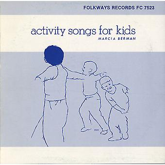 Marcia Berman - Activity Songs for Kids [CD] USA import