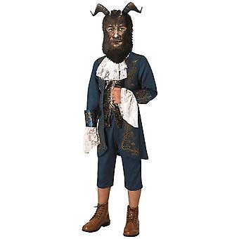 Het beest het beest uit de schnöne en het beest kostuum kinderen