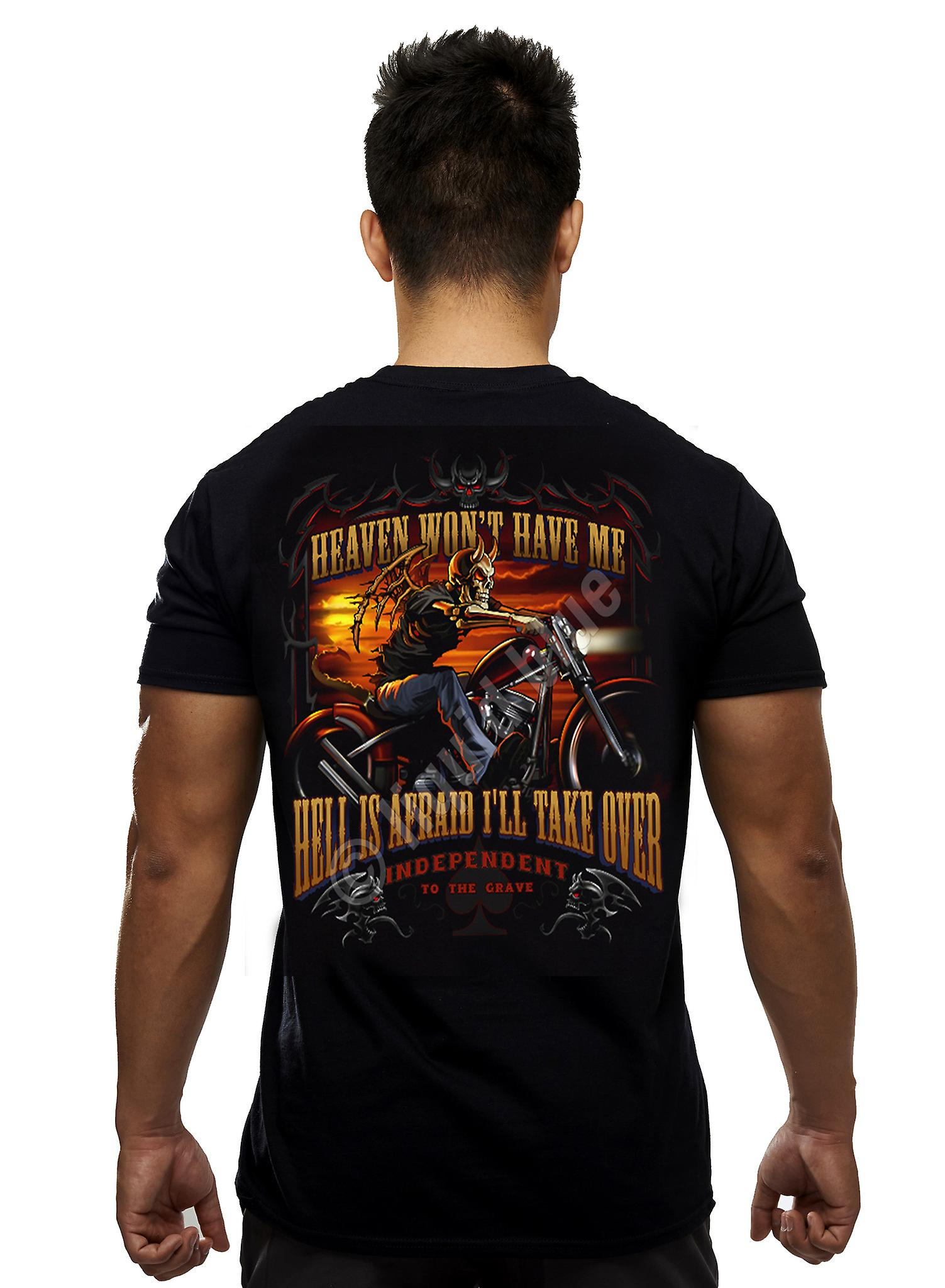 Heaven And Hell  Short Sleeve Tshirt