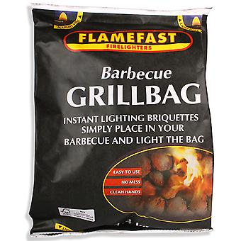 Flamefast Barbecue Grill Bag 1,4 kg