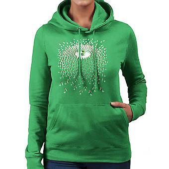 Legend of Zelda Link Vs Cuccos Women's Hooded Sweatshirt