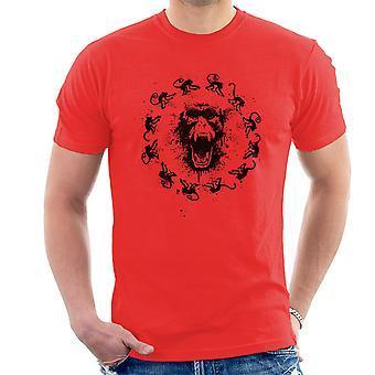 Monkey Fever 12 Monkeys Men's T-Shirt