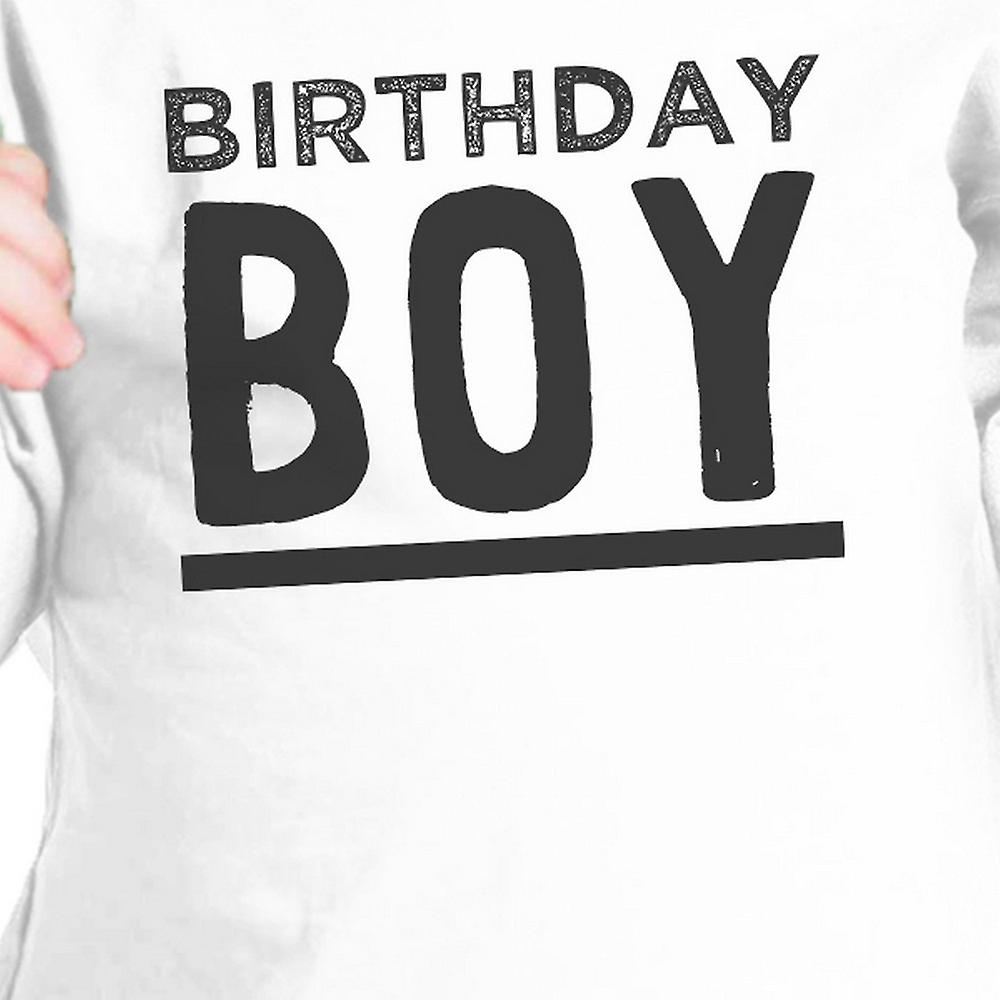Birthday Boy White Infant Tee Cute First Birthday Gift For Baby Boy