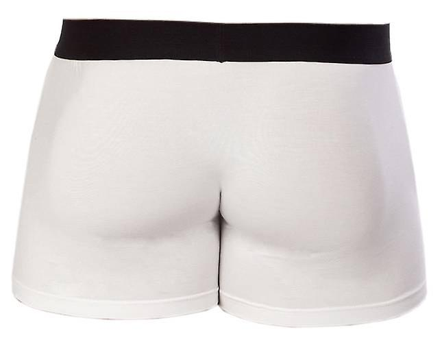 Obviously Essence Naked Boxer Brief 3 Inch Leg - White