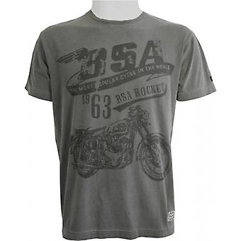 BSA The Rocket T-Shirt - Grey