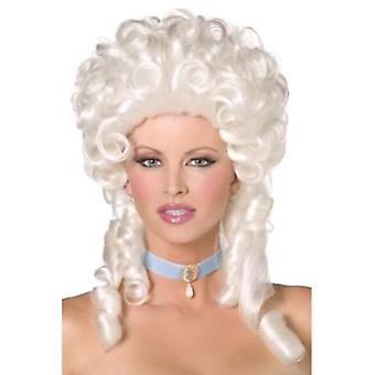 Smiffys Baroque Wig White Shoulder Length With Ringlet Curls (Costumes)