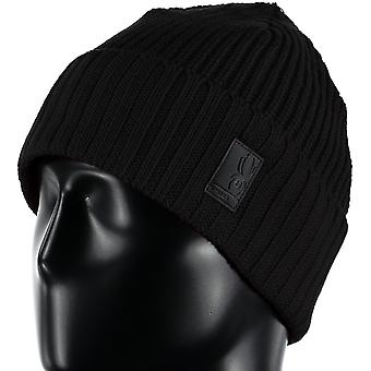 Spyder lifestyle lounge mens ski Hat Black ONE SIZE