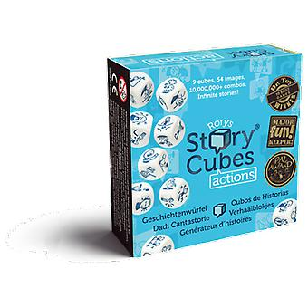 Asmodee Game Story Cubes Actions (Toys , Boardgames , Family Games)