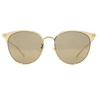 Saint Laurent SL 202/K Sunglasses In Gold
