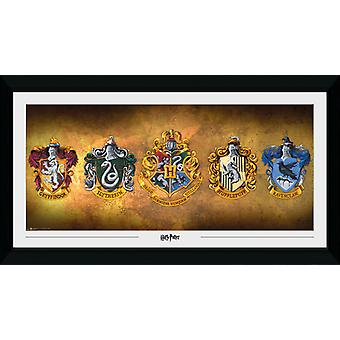 Harry Potter Houses Collector Print 50x100cm
