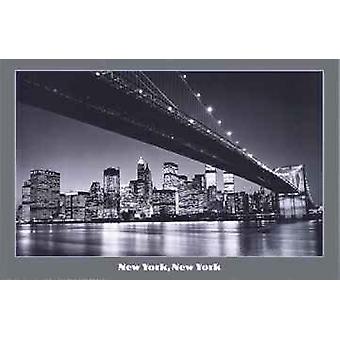 New York New York Poster Poster afdrukken