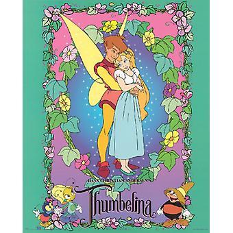 Дюймовочка плакат печати Walt Disney (16 x 20)