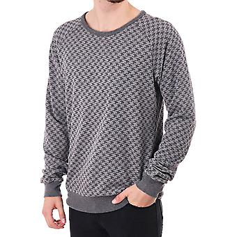 Scotch & Soda Ls Sweat In Check