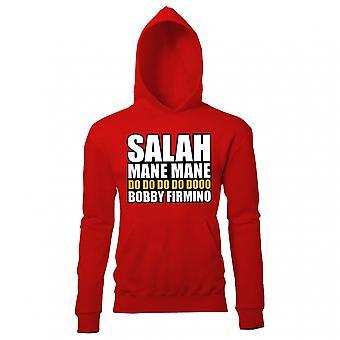 Grzywa Salah grzywa Liverpool z kapturem (czerwony)