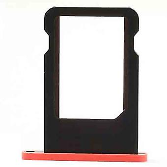 SIM card holder for iPhone 5 c-Red