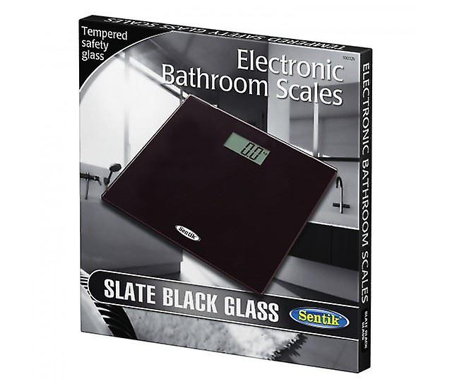 Black 150kg Digital Electronic Glass Lcd Weighing Body Scales Bathroom Helps Lose Fat