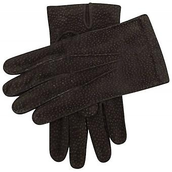 Dents Cowdray Carpincho Leather Gloves - Dark Brown