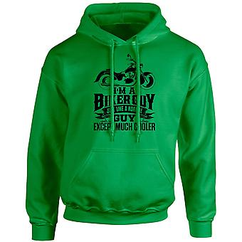I'm a Biker Guy Except Much Cooler Unisex Hoodie 10 Colours (S-5XL) by swagwear