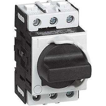 Switch disconnector fuse 32 A 1 x 90 ° Grey, Bla