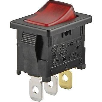 Toggle switch 250 Vac 6 A 1 x Off/On SCI R13-66B-0