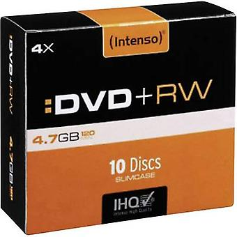 En blanco de DVD+RW 4,7 GB Intenso 4211632 10 PC Slim