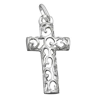 Pendant cross silver 925