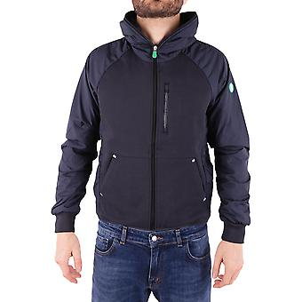 Save the duck men's D3716MFEEL600146 Blau polyester jacket