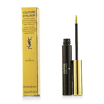 Yves Saint Laurent Couture flytande Eyeliner - # 9 eller radikal - 2.95ml/0.09oz