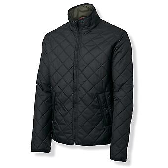 Nimbus Mens Leyland Quilted Nylon Padded Reversible Jacket