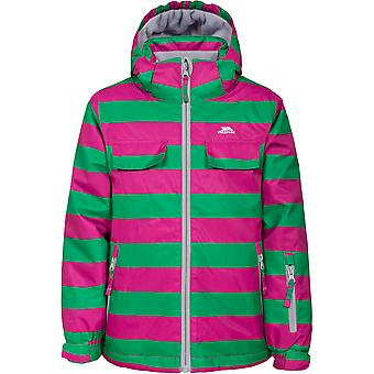 Trespass Girls Motley Waterproof Windproof Padded Shell Ski Jacket