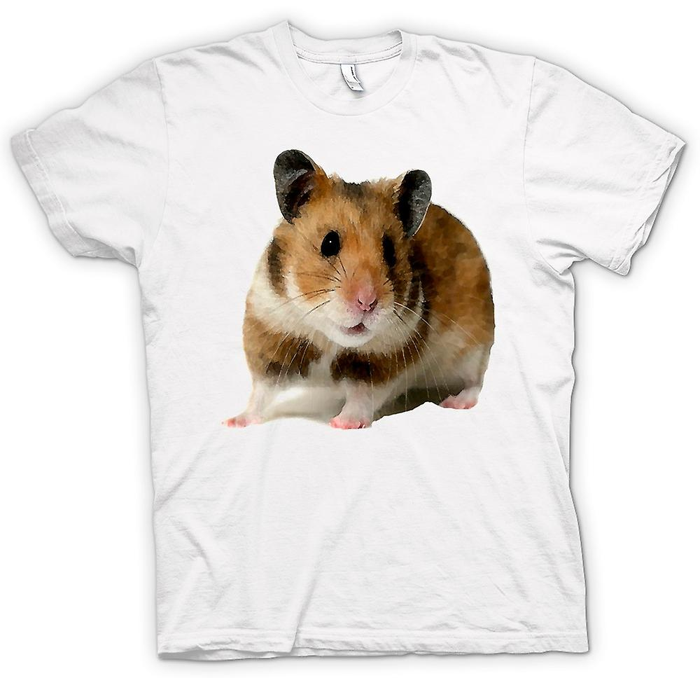 Mens T-shirt -  Hamster - Pet Animal