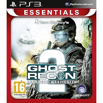 Ghost Recon Advanced Warfighter 2 Essentials de PlayStation 3 (PS3)