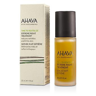 AHAVA tid til at puste nyt liv i ekstrem nat behandling 30ml/1 ounce