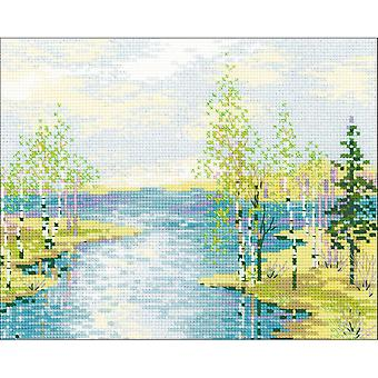 Estuary Counted Cross Stitch Kit-11.75